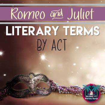 Figurative language in Romeo and Juliet Act by Act #HighSchoolELA #RomeoAndJuliet