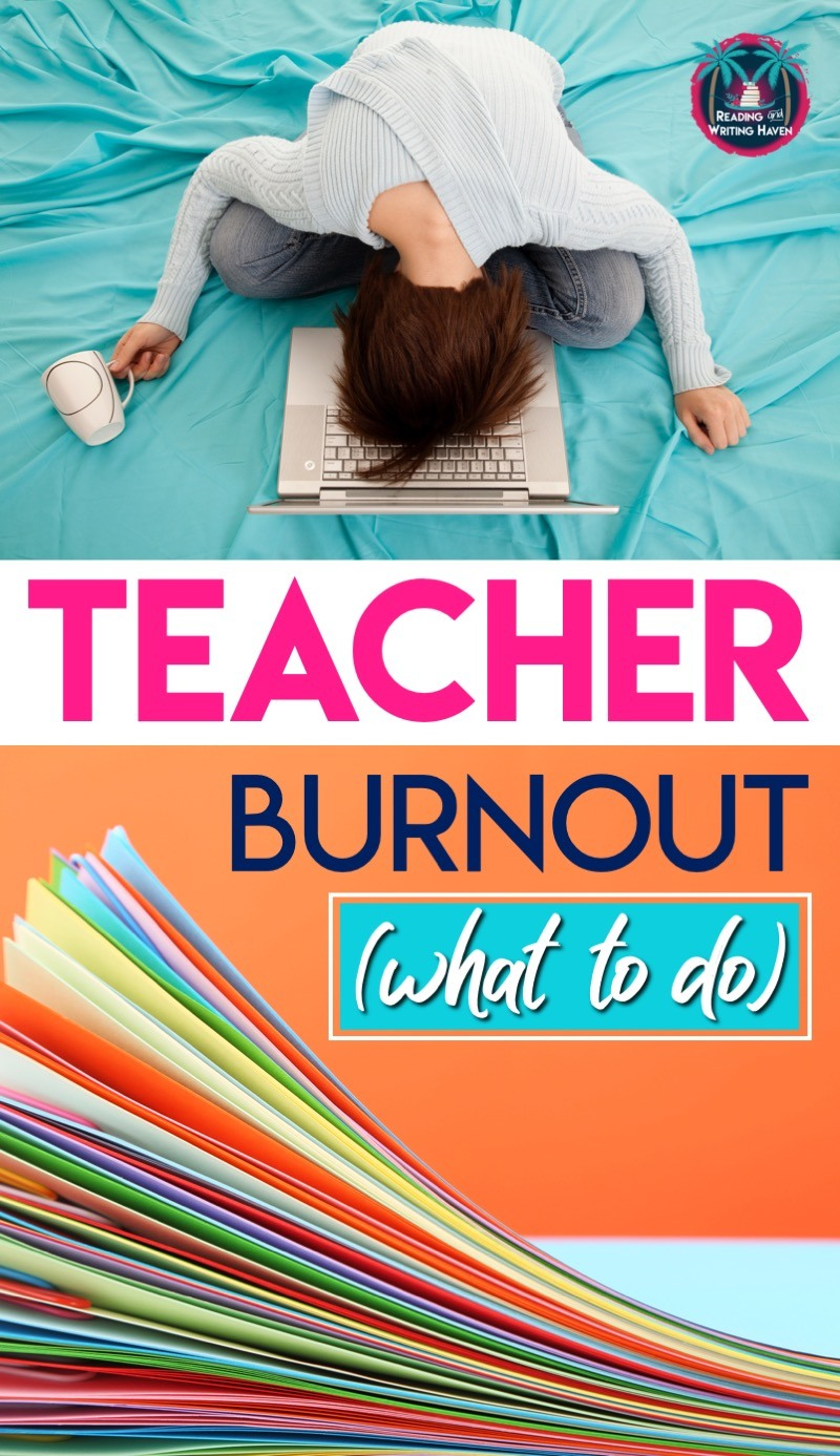 Tired teacher? Avoiding teacher burnout may not always be possible, but here are some strategies for coping and overcoming exhaustion. #TeacherBurnout #TeacherTired