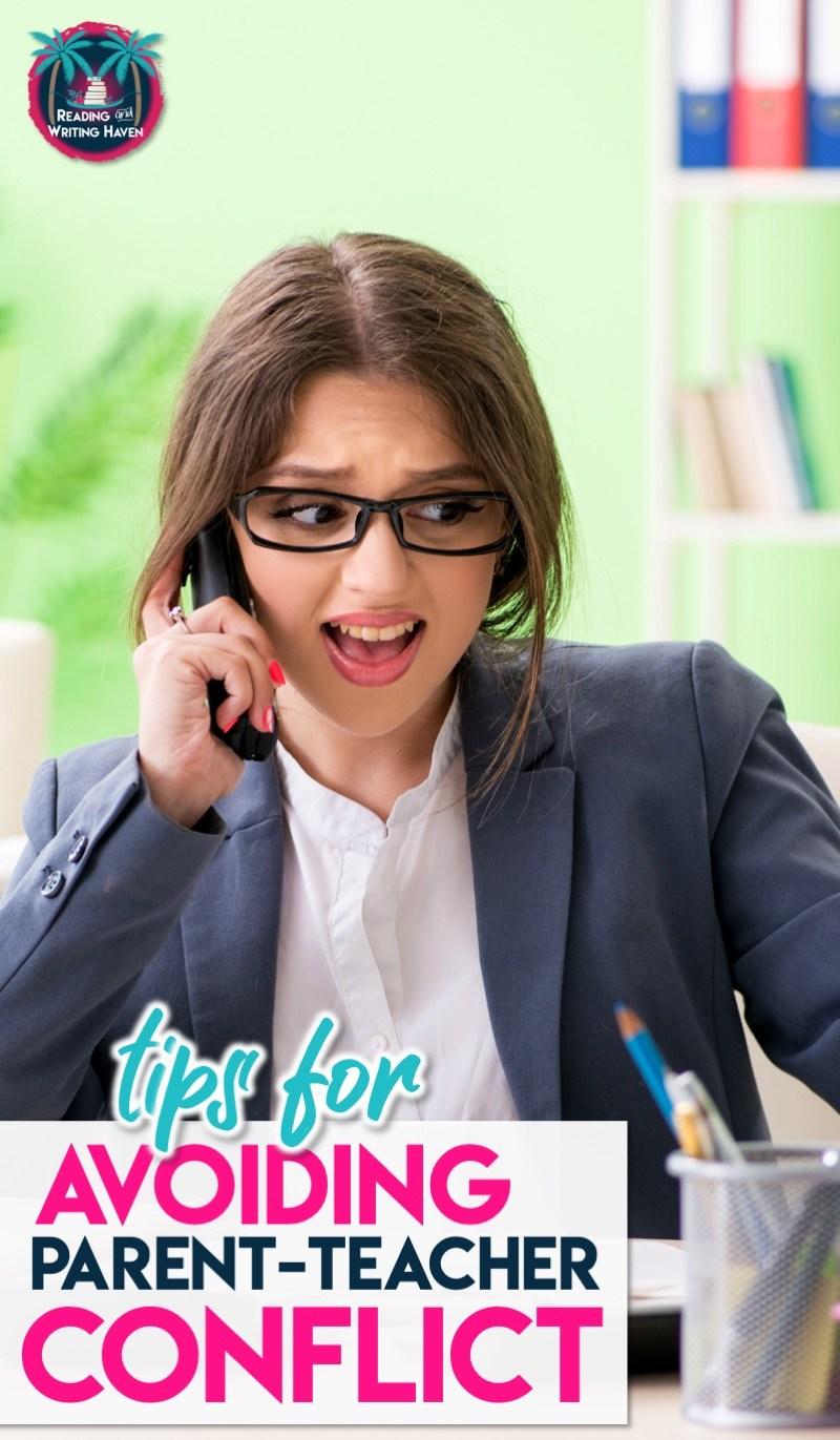 8 tips for improving parent communication #parentcommunication #parentteacherconflict