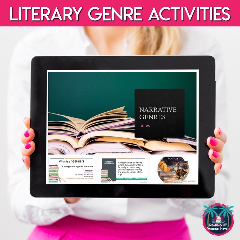 Engaging literary genre activities for middle and high school ELA