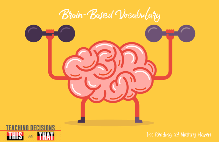 5 Brain Based Vocabulary Activities For The Secondary Classroom