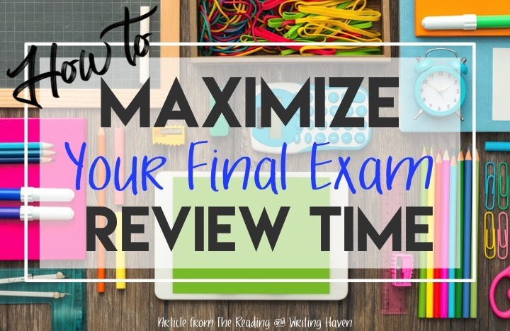 Meaningful Final Exam Review Sessions Reading And Writing