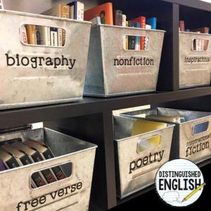 16 Classy Decor Ideas For Your Secondary Classroom Reading And