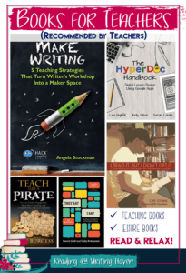 Summer reading ideas for teachers...recommended by teachers! Read, relax, rejuvenate, and get inspired! Check out these personal and professional book recommendations, and tell us about yours!