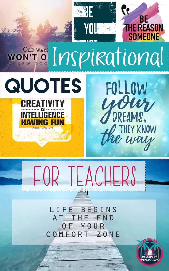 Inspirational Quotes for Teacher Motivation | Reading and ...