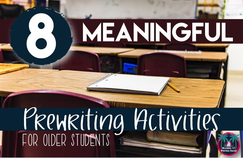 meaningful essay prewriting activities the reading and writing  teaching writing sometimes students shut down before they write a single word teachers can
