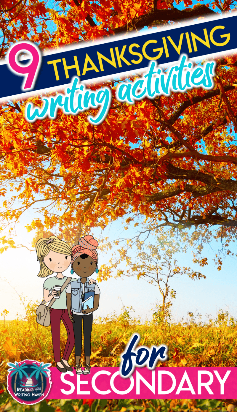 Simple Yet Meaningful Thanksgiving Writing Activities