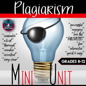 plagiarism mini unit from Reading and Writing Haven