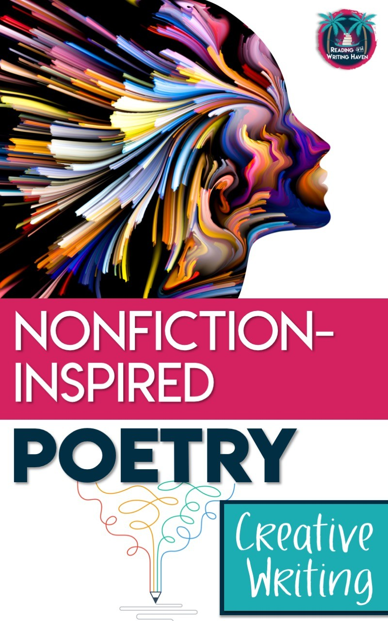 A creative writing assignment for poetry inspired by nonfiction sources #highschoolela #poetry