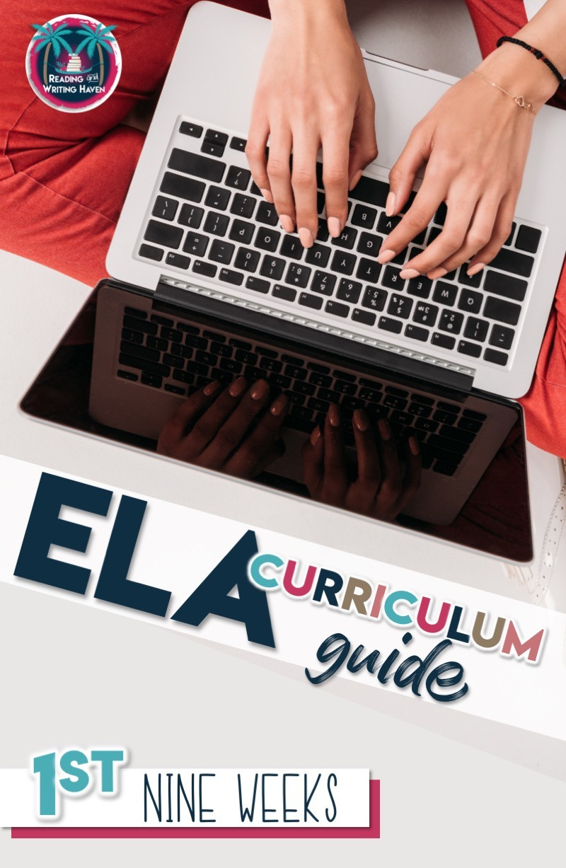 Not sure what to teach first nine weeks? Find guidance for structuring your first quarter language arts curriculum. #highschoolela #curriculum