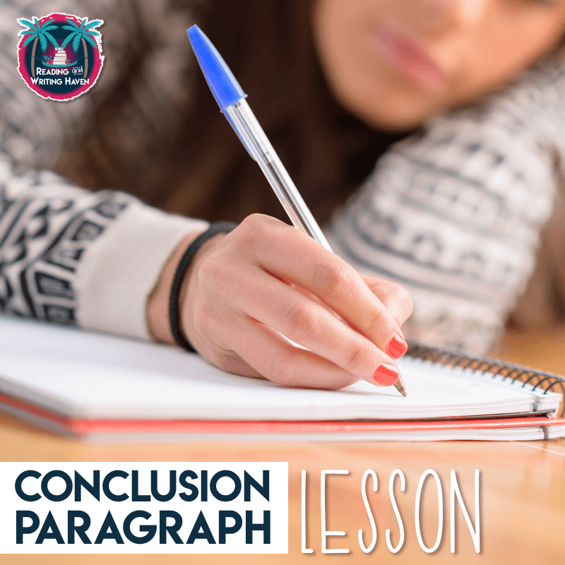 Take and use ideas for teaching conclusion paragraphs in middle and high school #argumentativewriting #highschoolela #middleschoolela