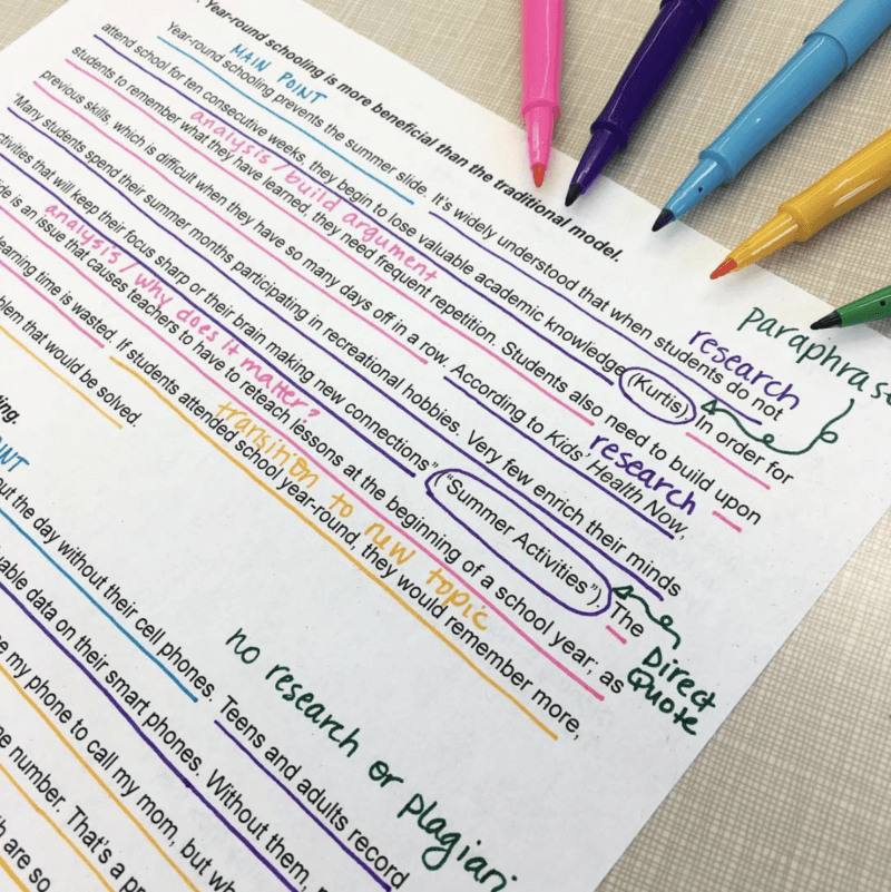 Use this body paragraph unit to differentiate, scaffold, and increase success with writing argumentative essays. #argumentativewriting #highschoolela