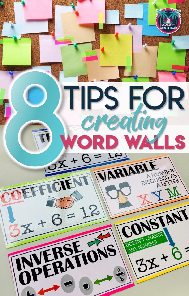 Word On Wall Decor Living Room: 8 Tips For Creating Effective Word Walls In Secondary