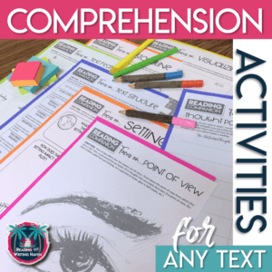 Reading comprehension activities for middle and high school #middleschoolela #readingcomprehension