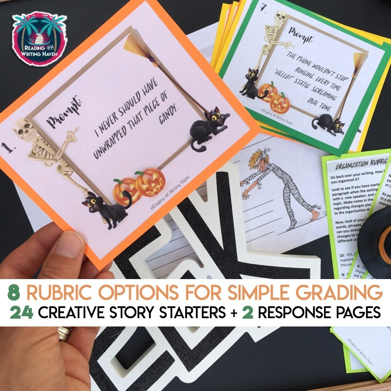 Halloween Lessons for Middle and High School | Reading and