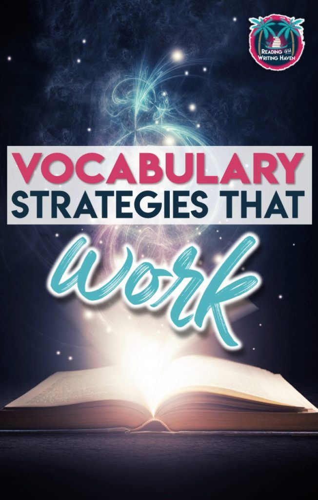 Vocabulary strategies that work to improve student learning #vocabulary #highschoolteacher