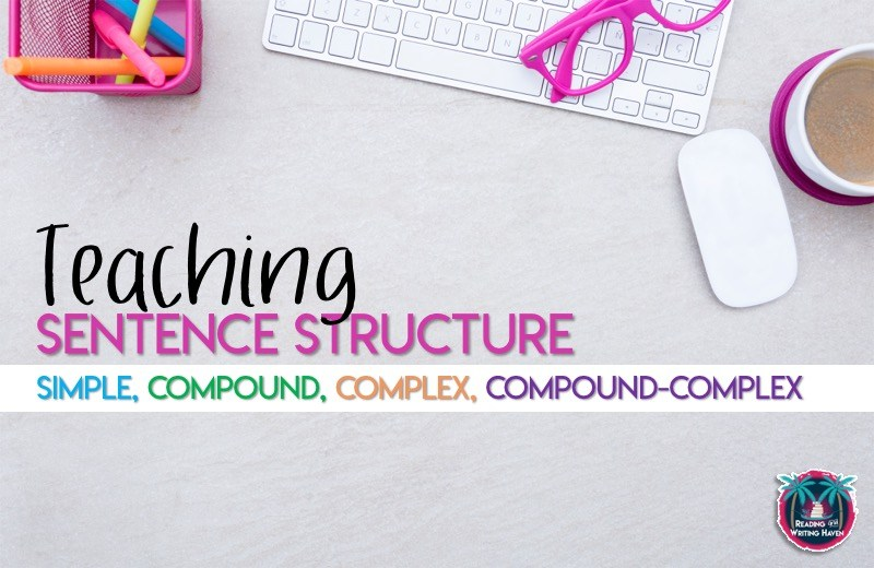 How to Teach Sentence Structure: Simple, Compound, Complex, Compound