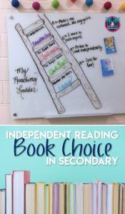 Teach students to make wise independent reading choices without limiting their options. Here's how. #readingteacher #independentreading