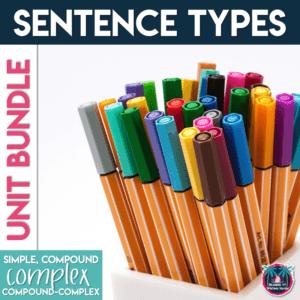 How to Teach Sentence Structure: Simple, Compound, Complex, Compound