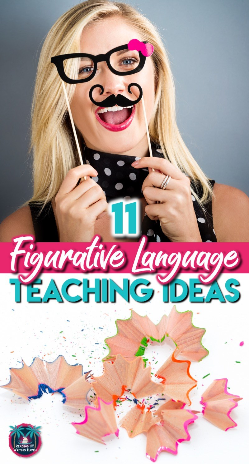 11 figurative language teaching ideas for middle and high school ELA #FigurativeLanguage #HighSchoolELA