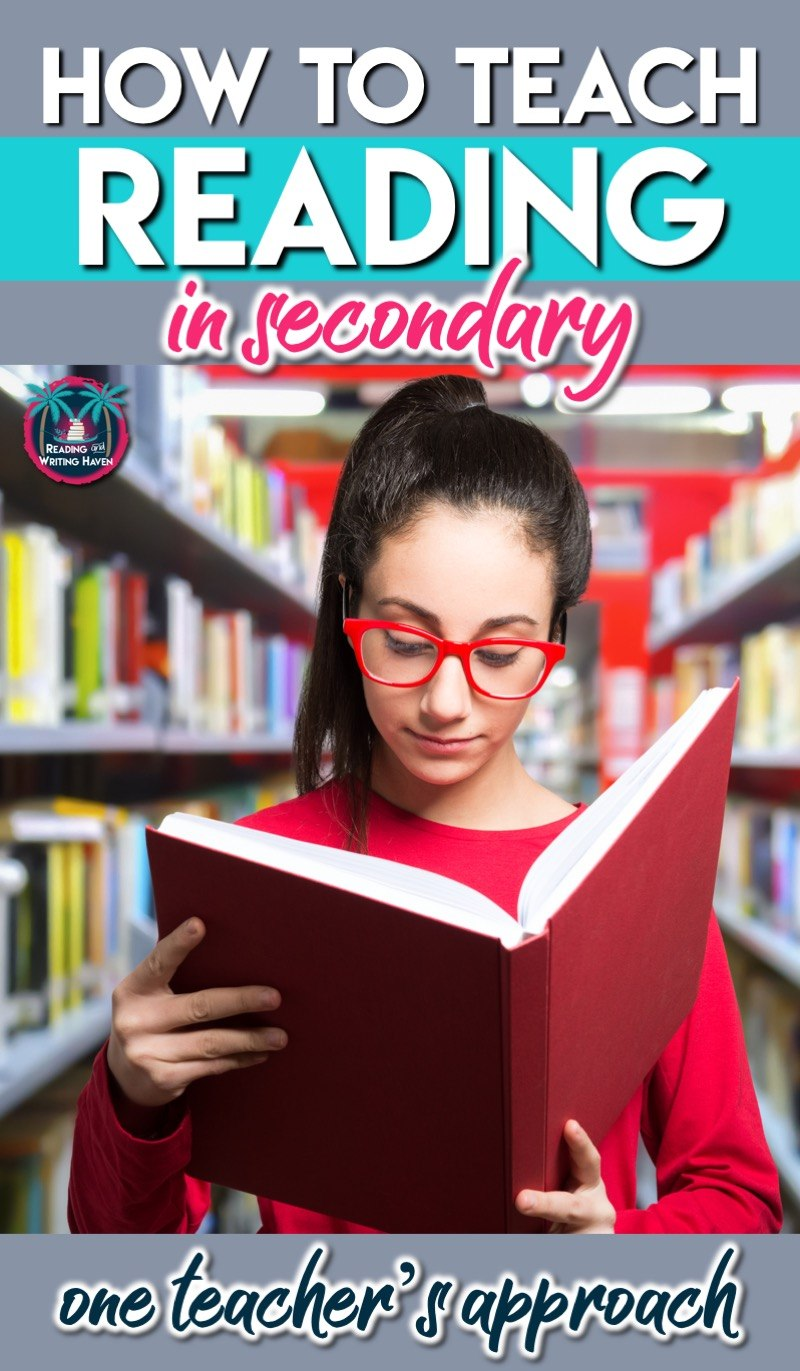 Looking for ideas for teaching reading in secondary ELA? Let's look at step one: Getting to know your readers. #ReadingTeacher #SecondaryELA