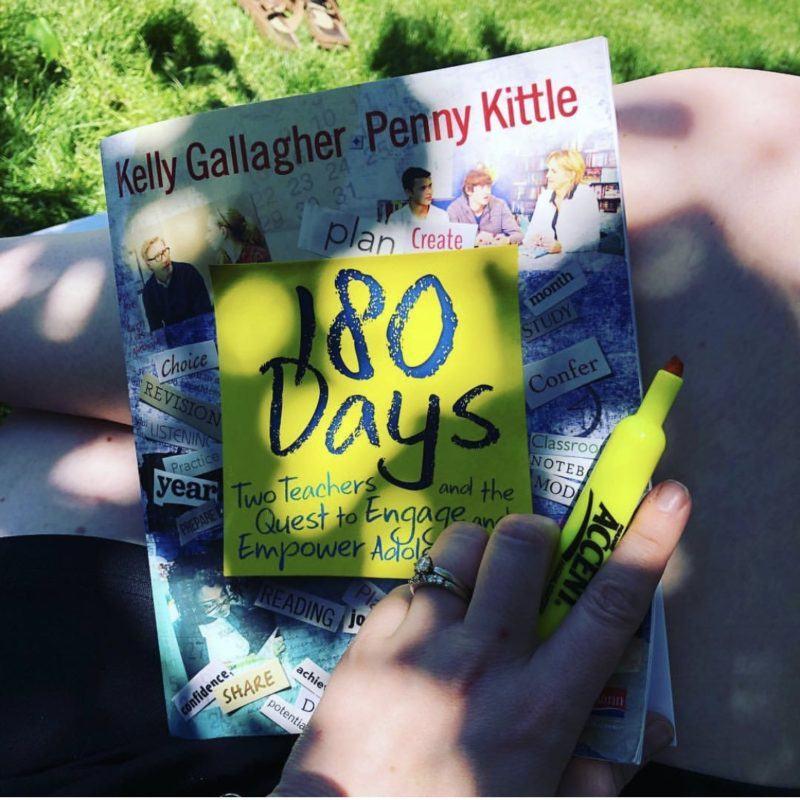 180 days of lesson planning inspiration for middle and high school teachers #TeacherBooks #TeacherTips