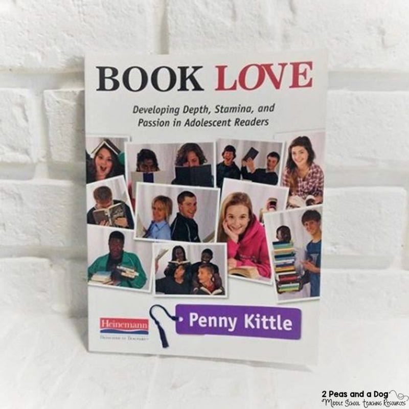 Book Love by Penny Kittle is a great book for secondary ELA #ReadingTeacher #MiddleSchoolELA