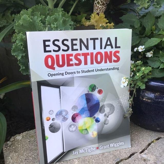 Essential Questions, a professional development book for teachers #SecondaryELA #PDBooks