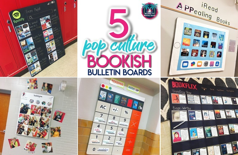Reading Bulletin Boards Bookish Culture Ideas For Middle And High