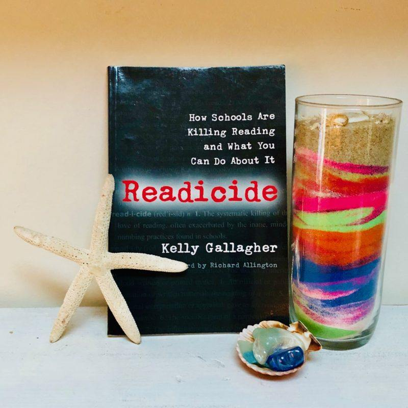 Looking for an ELA PD book? Try Readicide. #EnglishTeacher #ProfessionalDevelopment