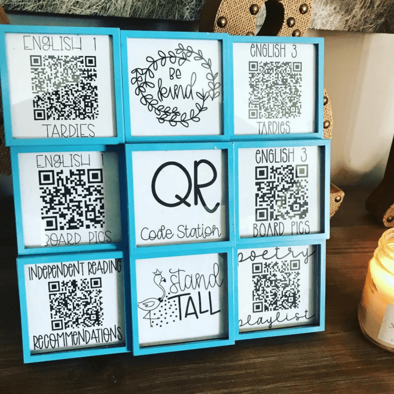 QR classroom management system for secondary classrooms #ClassroomManagement #ClassroomSetup