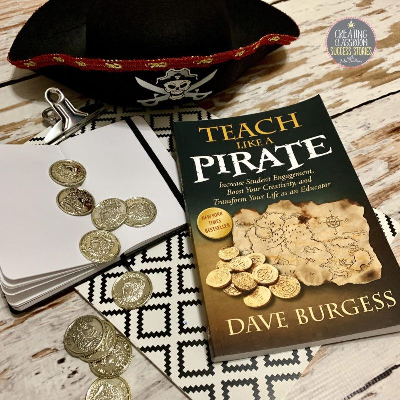 Looking for a way to spice up your lesson plans? Just Teach Like a Pirate! #ProfessionalDevelopment #HighSchoolTeacher