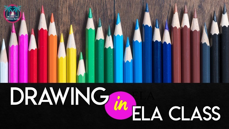 Meaningful ways to incorporate art in English class #MiddleSchoolELA #HighSchoolELA #ArtinELA