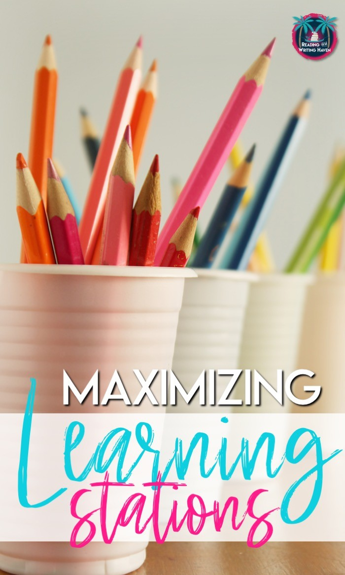 Tips for maximizing learning stations in middle and high school. Read about movement, differentiation, engagement, and ownership! #MiddleSchoolELA #HighSchoolELA #LearningStations