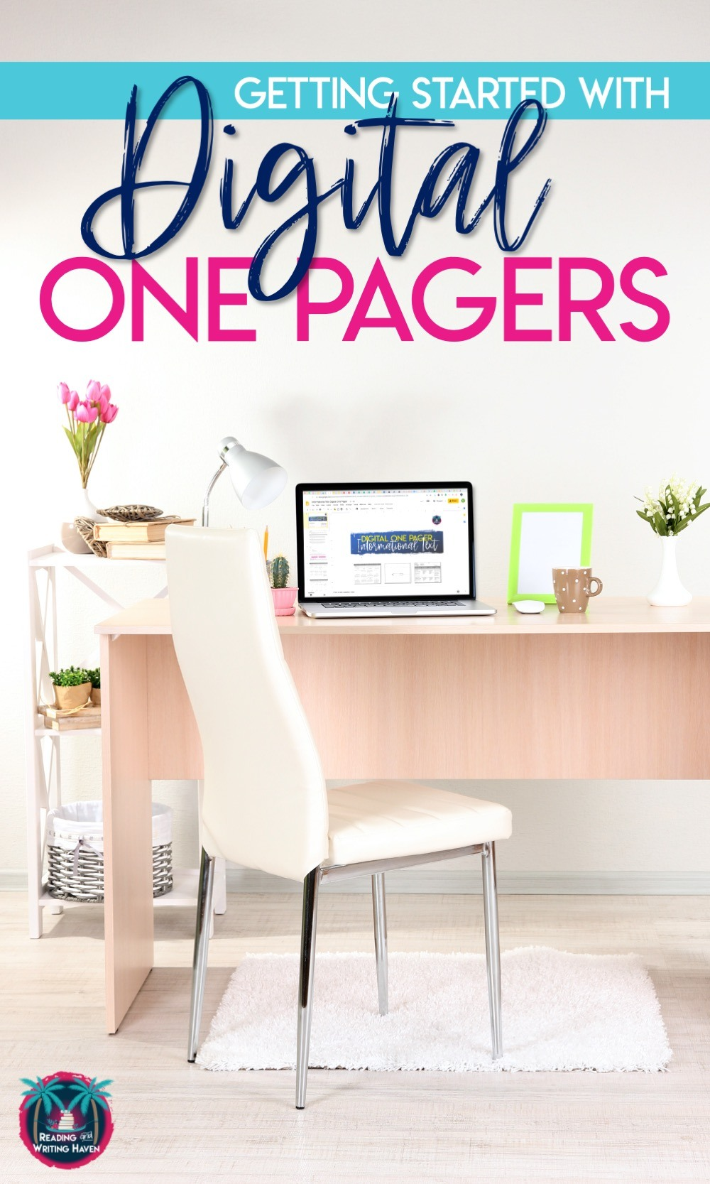 Digital one pagers, a guide for getting started #HighSchoolELA #ReadingResponse #OnePagers #DistanceLearning