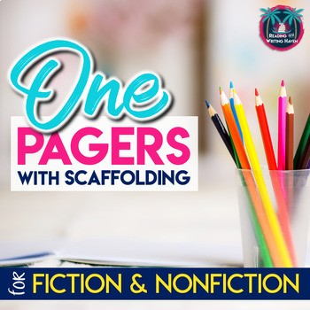 One pager bundle from Reading and Writing Haven