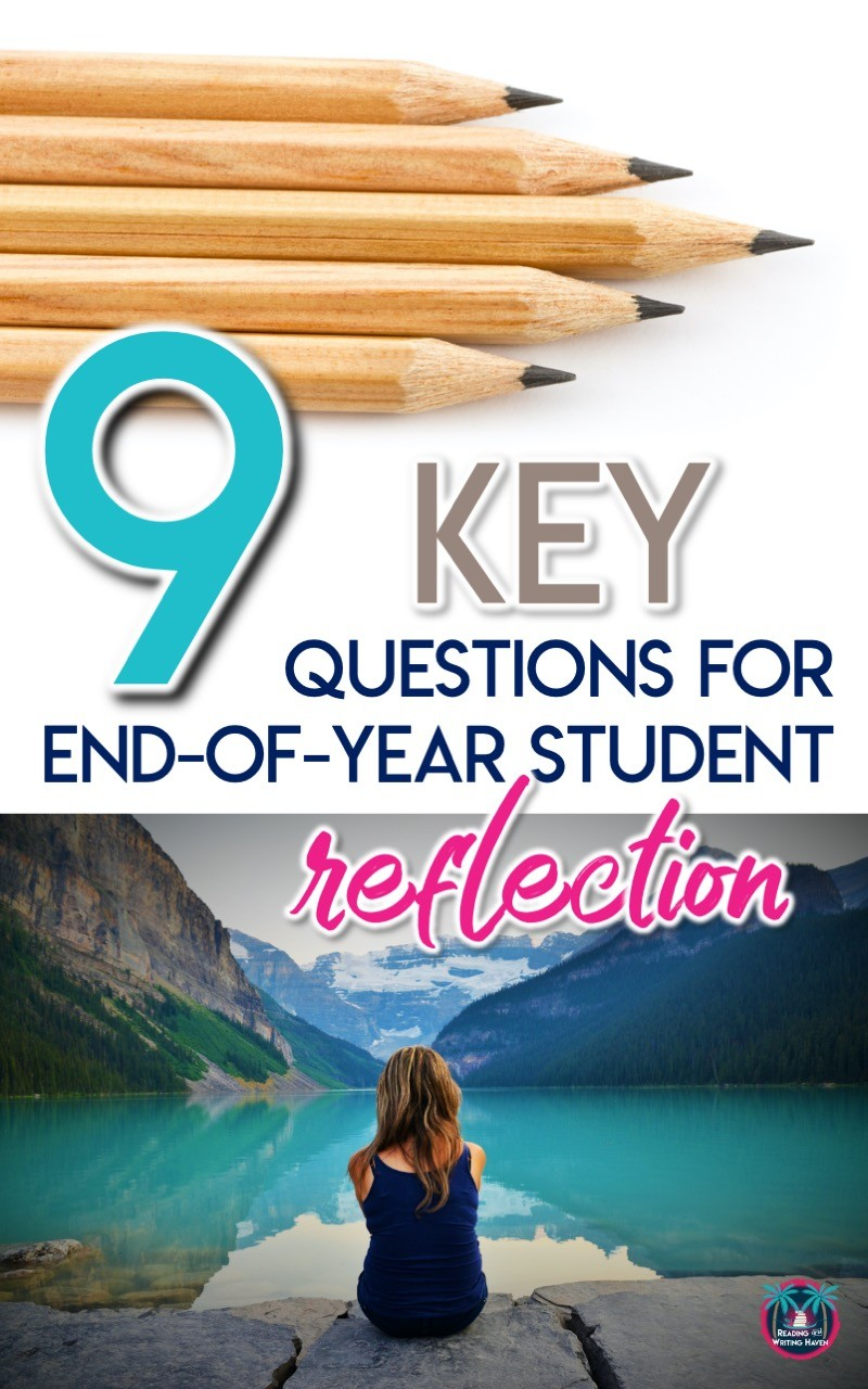 End-of-the-year student reflection questions for eLearning #MiddleSchoolTeacher #HighSchoolTeacher