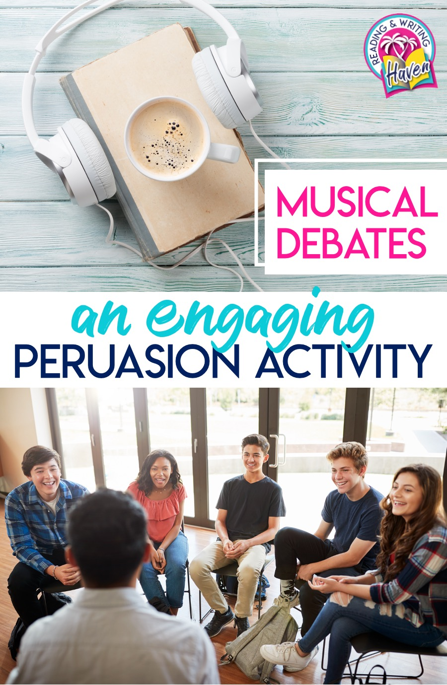 Musical debates are an engaging twist on mini debates and great for engaging students in the middle and high school classroom #DebateActivity #TeachingPersuasion #MiddleSchoolELA #HighSchoolELA